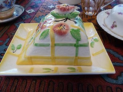 Avon Ware pottery cheese dish and cover
