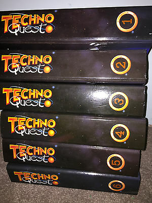 Techno Quest Magazines in 6 Binders Wallace & Gromit Great Condition Classic