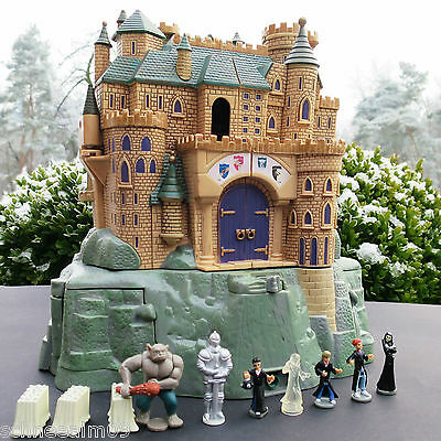 Polly Pocket Harry Potter Hogwarts Schloss (Figuren Komplett) SOUND Warner Bros