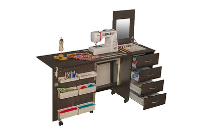 Sewing Machine Cabinet Table Comfort 2 Hobby Desk. Variations Of Colours.