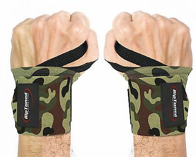 Wrist Wraps Weight Lifting Bandage Hand Support Gym Brace Straps