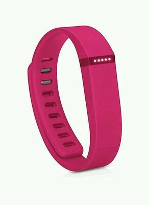 FITBIT Flex Activity & Sleep Wristband Wireless Syncing via Bluetooth & NFC Pink