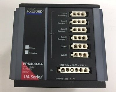 Foxboro Invensys FPS400-24 Power Supply Module