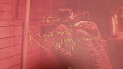"""KOREAN MOVIE """"Right Now, Wrong Then""""/ FILM FLYER"""