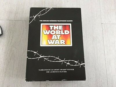 The World At War (DVD, 2005, 11-Disc Set, Box Set)
