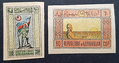 National symbols 1919 mint Azerbaijan stamps for sale please click to view