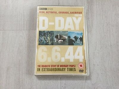 BBC DVD D-DAY 6.6.44 Dramatic Story of Ordinary People EXTRAORDINARY TIMES *NEW*