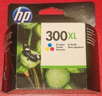 Sealed New Hp 300Xl Colour Ink Cartridge Tri Colour Print 2X More Pages Nov 15