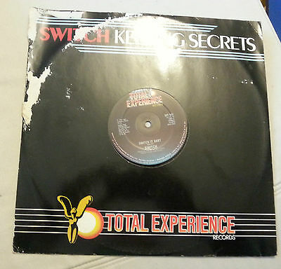 "Switch -  Keeping Secrets -  12""  Ep Vinyl Records Uk"