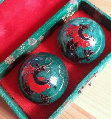 Chinese Musical Stress Relief Balls - Black Dragon Style