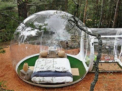 Tente bulle gonflable transparente,camping,loisir,