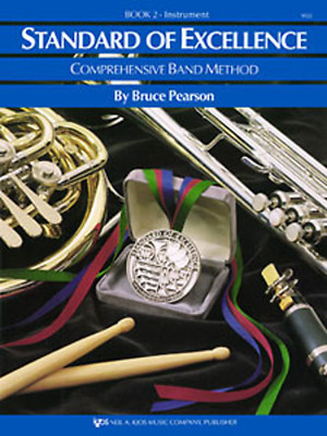 """Kjos """"Standard Of Excellence"""" Bass Clarinet Music Book 2 Brand New Band On Sale!"""