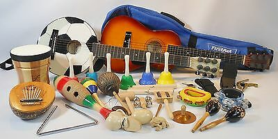 First Act Discovery Lot 6-String Acoustic Guitars Bells Muscial Instruments