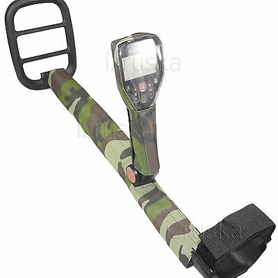 Camo #1 Box & Shaft Cover for Metal Detector Minelab Go-Find 20 40 60 kit 2 pcs