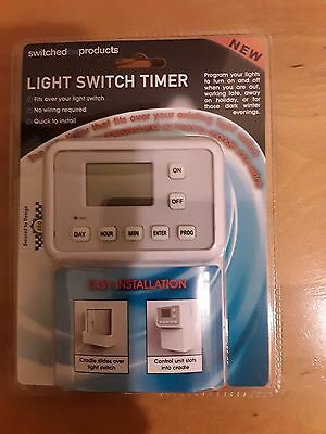switched on products Light Switch Timer