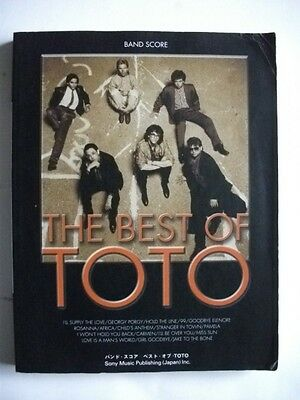 The Best Of Toto Japan Band Score Guitar Tab Steve Lukater
