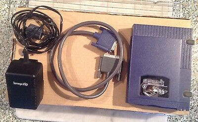 Iomega Zip External Disk Drive 100 MB for PC - Parallel Port - With PSU & Cable