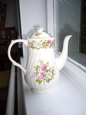 James Kent Old Foley Harmony Rose Coffee pot