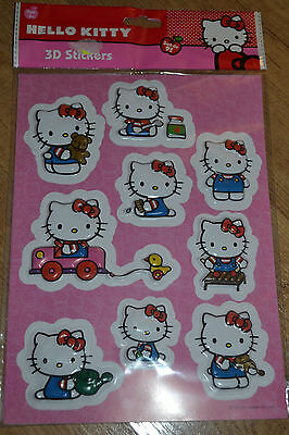 Stikers 3D Hello Kitty