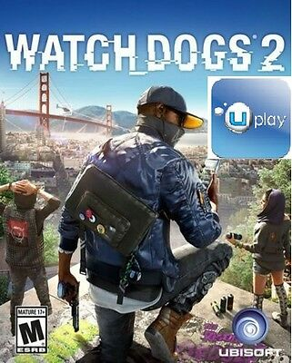 Watch Dogs 2 Uplay (PC 2016) - US/CA ONLY Nvidia Redemption Code