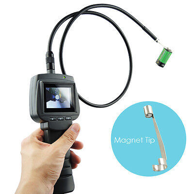 VID-71-9-1M 1M 2.4 HD Endoscope 9mm Camera Snake Scope IP67 Borescope Pipe 4LED