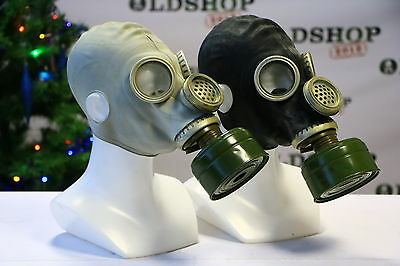 SET Gas Masks GP5M with filter Grey + Black Soviet Russian NEW Vintage ALL SIZES