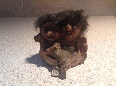 Vintage  Rare Fosse  Norwegian Troll Couple Number 118