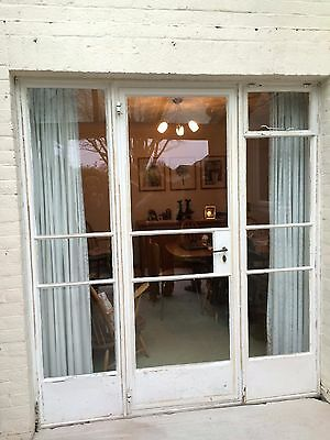Mid century Crittall door and sidelights set - original 1950s *REVISED*