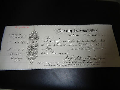 renewal fire policy dated 1886