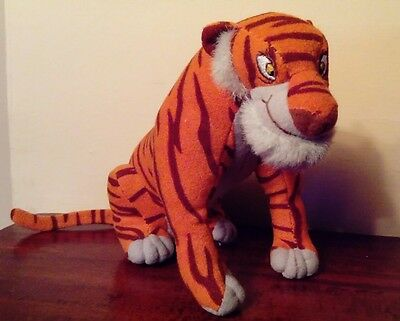 Rare Retired Shere Khan The Jungle Book Plush Toy Collectable