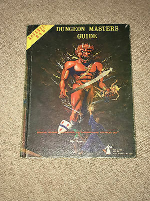 DUNGEONS & DRAGONS AD&D Dungeon Masters Guide 1st print 1st edition RARE