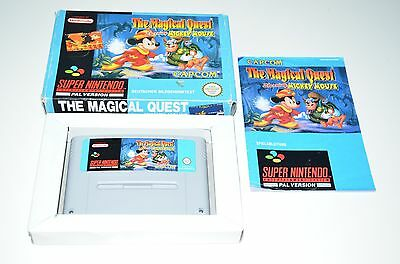 Nintendo SNES Spiel THE MAGICAL QUEST STARRING MICKEY MOUSE + OVP