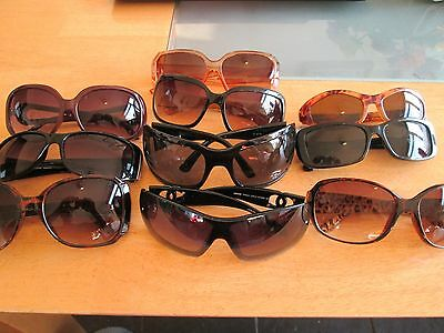 10 pairs of branded / unbranded sunglasses.