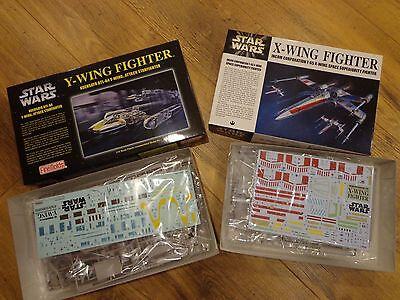 Fine Molds 1/72 STARWARS X- Wing AND Y-Wing Fighters