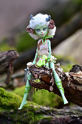 OOAK Monster High repaint Puppe- kleine Elfe