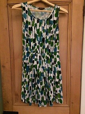 Phase Eight 50s/60s Print Cotton Spring/Summer Dress - Size 10