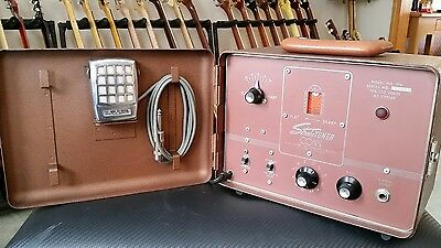 C.G. Conn Strobe Tuner Perfect w/ microphone and operation and service manuals