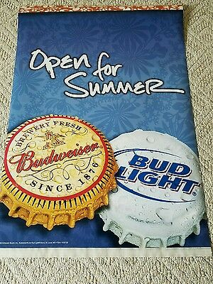 Budwiser/Bud Light Summer Sign
