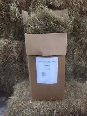 Pet Hay - 10KG of High Quality Meadow Hay for Rabbits-Guinea Pigs-Hamsters