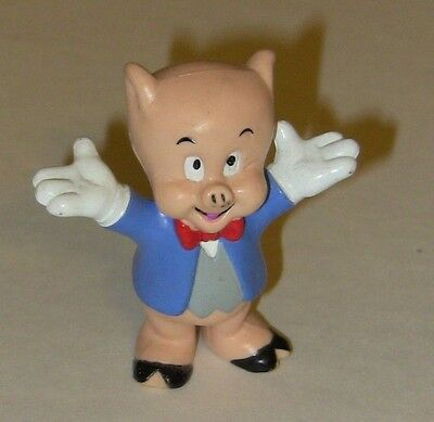 Vintage Looney Tunes - Porky the Pig PVC Collector Figurine