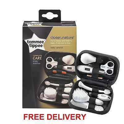 Tommee Tippee Healthcare Kit Grooming Set Baby Travel Case Organiser Brush Comb