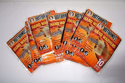HOT HANDS hand warmers x10 Pairs (Walking/Skiing/Snow/Winter/Gloves or Pockets!)