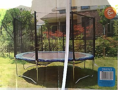12ft Trampoline Kids with Enclosure Safety Net Childrens New Boxed Collection