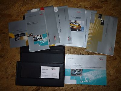 Audi A4 owners manual wallet 2000