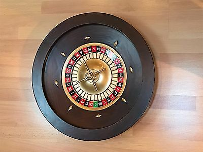 Roulette Wheel, Table and Chips