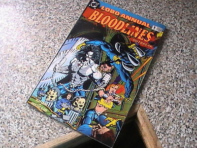 Lobo Annual  # 1  Bloodlines  -  Dc Comics