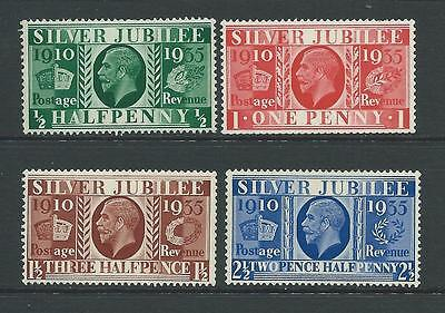 Set of 4 UNMOUNTED MINT GV stamps SG453-456.