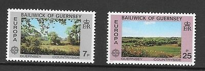 Guernsey 1977 Europa Stamp Set Mh