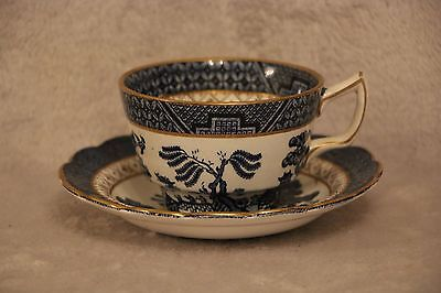 Booths Real Old Willow - Gilt - Breakfast Cup and Saucer
