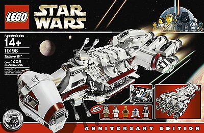 LEGO Star Wars 10198 Tantive IV - Complet + Boite + Notice